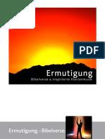 """Ermutigung. – Bibelverse. | Booklet"