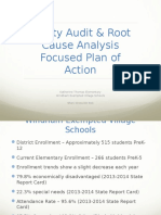 focused plan of action