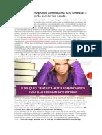 5 Truques Científicos Para Combater a Procrastinação