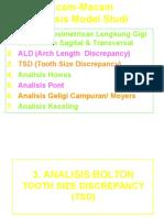 Bolton Analisis