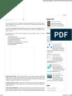Karakteristik ProyekDjay's BlogTinta MPTI