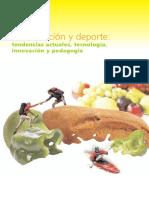 Alimentacion y Deporte Tendencias Actuales, Tecnologia, Innovacion y Pedagogia