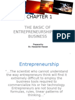 Chapter 1entrepreneurship Basis and Business