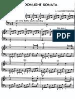 Beethoven - Al Chiaro Di Luna (Mclean) [Pf1]