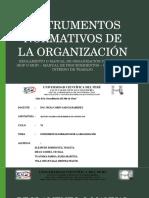Instrumentos Normativos de La Organización (1)