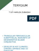 PTERYGIUM-TRICHIASIS-DACRYOADENITIS