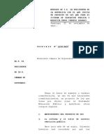 Proyecto Desmunicipalización