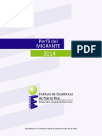 Perfil Del Migrante 2014