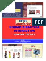 Memoria Final Materiales Didácticos EFTIC Condición Física