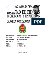 Practica 1 Microeconomia