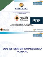 3006 Formalizacion Empresarial Upb