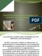 prcticassocialesdellenguajeysurelacincon-120612181424-phpapp01