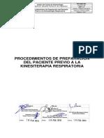 PR-KINE-001 Procedimientos Preparacion Kinesioterapia Ed 2