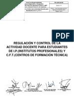 PR-LABCLIN-002 Regulacion y Control Actividad Docente Paramedicos Lab