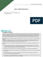 Wealth Insurance - Executive Summary - 20050801