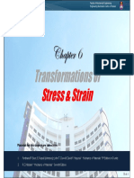6-Transformation of Stress & Strain [Jan2013]
