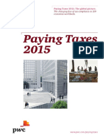 Pwc Paying Taxes 2015 High Resolution