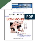 250070315 Đề Tai Điều Chế Sơn Mong Tay Doc