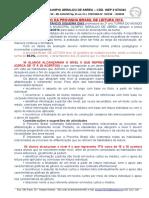 Relatório de Leitura - Emo Geraldo de Abreu 1 Prova 2016maria Provinha Brasil Enviar
