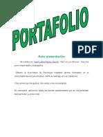 Portafolio de Español