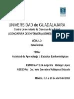 Actividad de Aprendizaje 1 Estudios Epidemiológicos