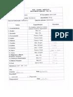 Certificado de Solución Salina - NaCl