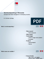 Vermicomposting of Biowaste SLIDES