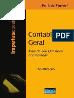 Atualizacao Contabilidade Geral Questoes Comentadas 9 Ed