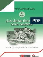 Minedu¿Las Plantas-tienen-Vida Como Nosotros 2016