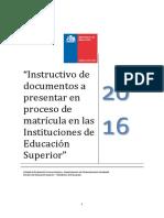 Manual Evaluacion Socioeconomica 2016 - MINEDUC