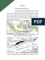 Sejarah Geologi Pulau Timor, Nusa Tenggara Timur