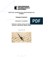 Poetica Neoclasismo y Romanticismo Del Siglo Xviii