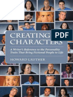 Creating Characters; A Writer's Reference to the Personality Traits That Bring Fictional People to Life - Lauther, Howard