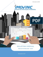 Relatório - Mercado Imobiliário - Janeiro