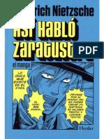 Asi Hablo Zaratustra - Manga
