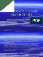 Entendendo o Golpe Militar de 1964