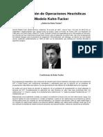 Metodo Kuhn -Tucker