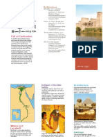 nile river valley brochure