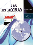 Anatonia L.dimou - The Crisis in Syria Diplomacy , Regional Challenges and Options