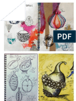 ceramics sketchbook pages