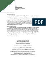 Meredith, Robert & Fitzgerald, John - Structuring Your Novel v3.0.rtf