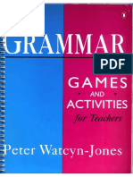 Teaching Resources -Grammar-games and Activities for Teachers(3)
