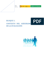 Bloque 1 Contexto Del Asesoramiento y de La Evaluación