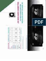 JVC Audio Cassettes