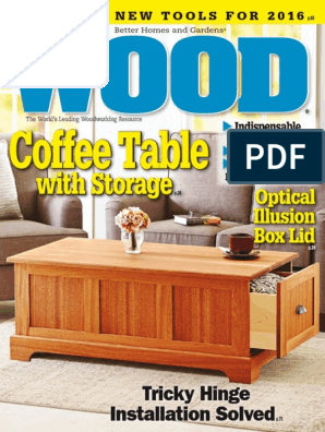 WOOD Magazine 2015-12-2016-01 | Tools | Woodworking