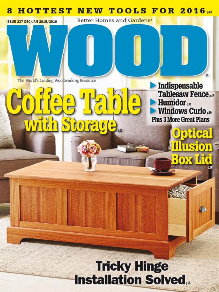WOOD Magazine 2015 12 2016 01 | Tools | Woodworking