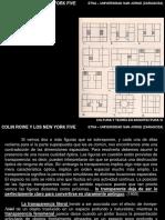 1. Colin Rowe y Los New York Five 2016
