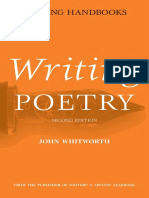 Writing Poetry - John Whitworth