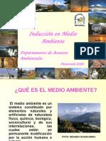 Inducción en Medio Ambiente2008