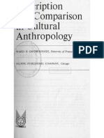 Goodenough, W. - Description and Comparison in Cultural Anthropology